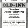 Disco Old Inn In Aurich Ostfriesland