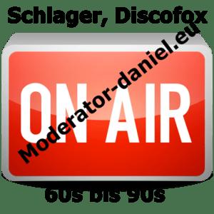 Radio moderator-daniel